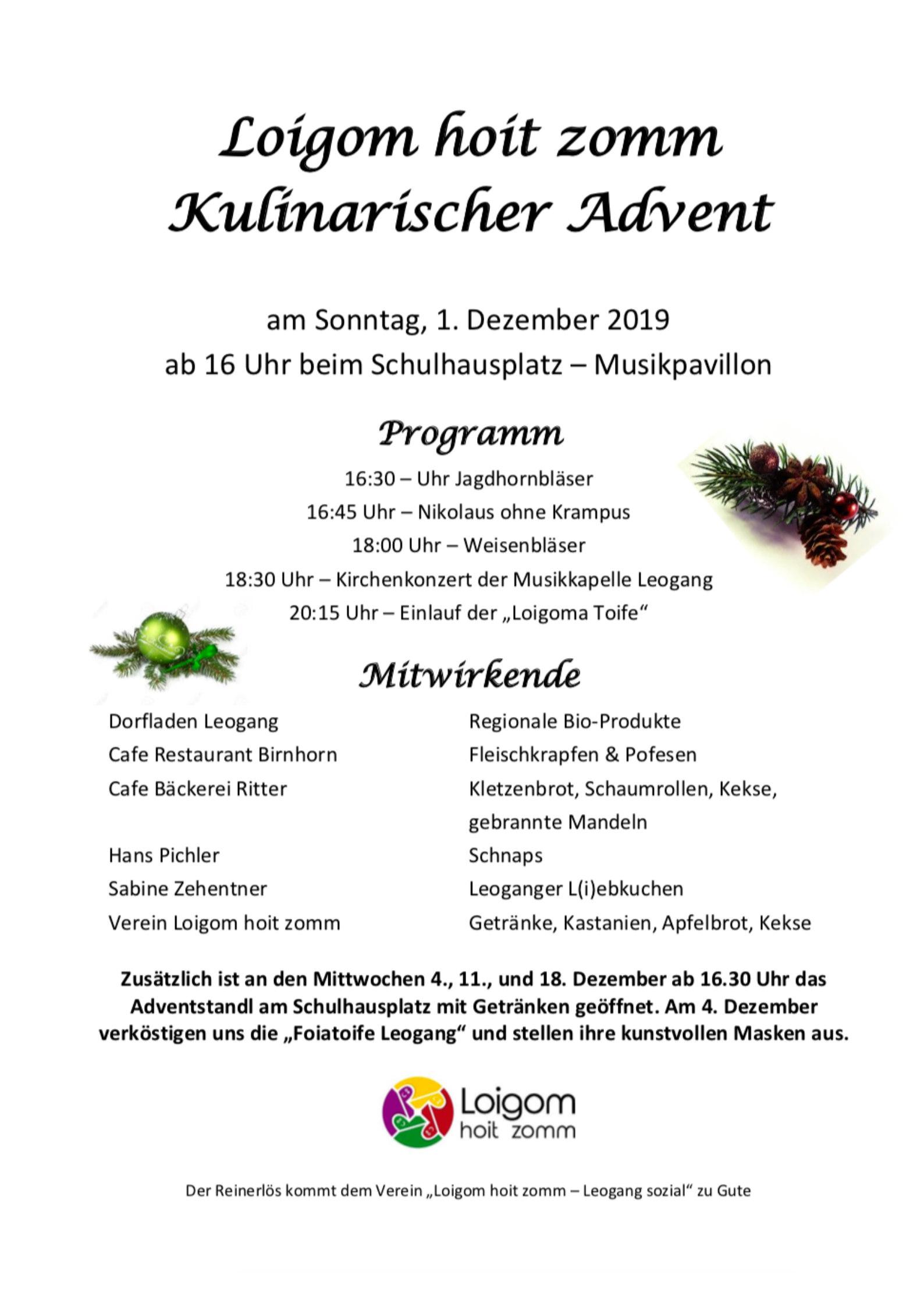 Postwurf_kulinarischer-Advent-2019